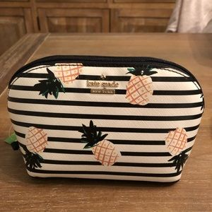 Kate Spade Pineapple Makeup Bag
